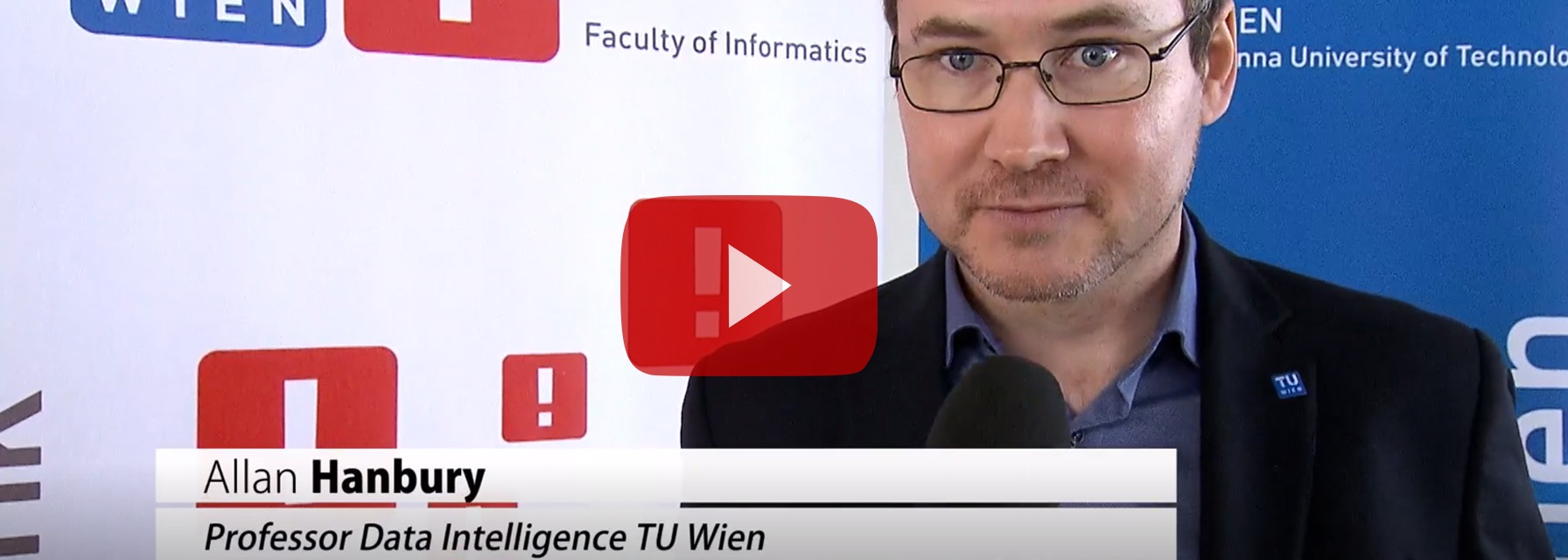 Prof. Allan Hanbury: Stiftungsprofessur Data Intelligence